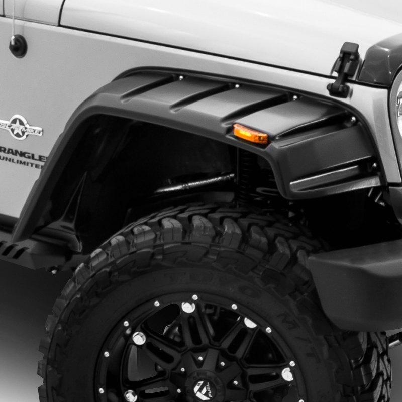 For Jeep Wrangler 07-18 Fender Flares Elite Series RX-Jeep