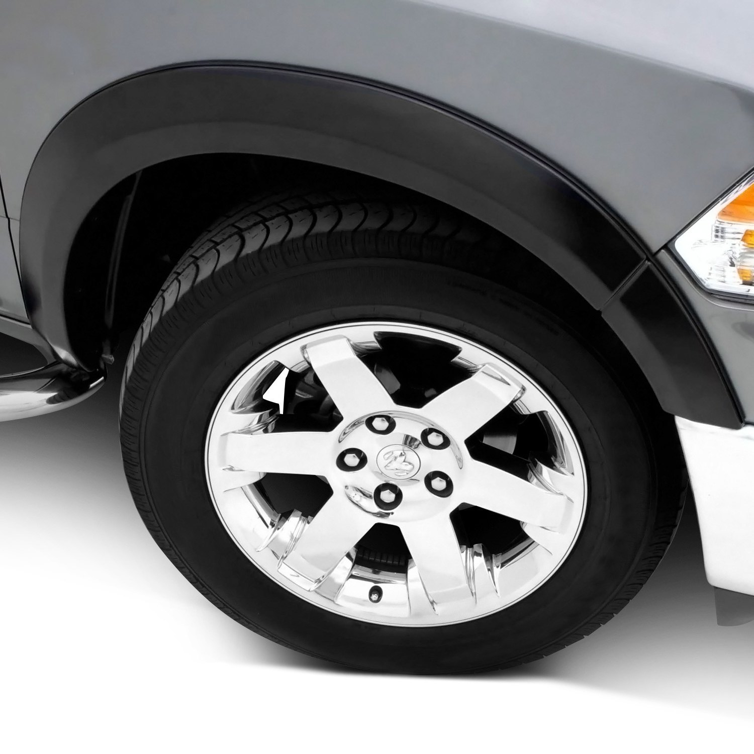 Lund Ford F 150 Styleside 2004 Elite Series Sx Sport Style Fender Smooth Black Front Flares
