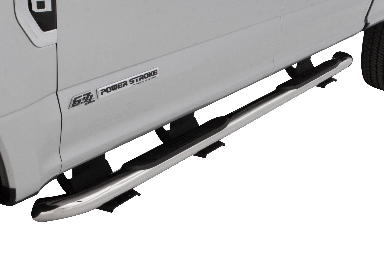 """Lund 23068046 3/"""" Round Bent Nerf Step Bar Running Boards for Toyota 4Runner"""