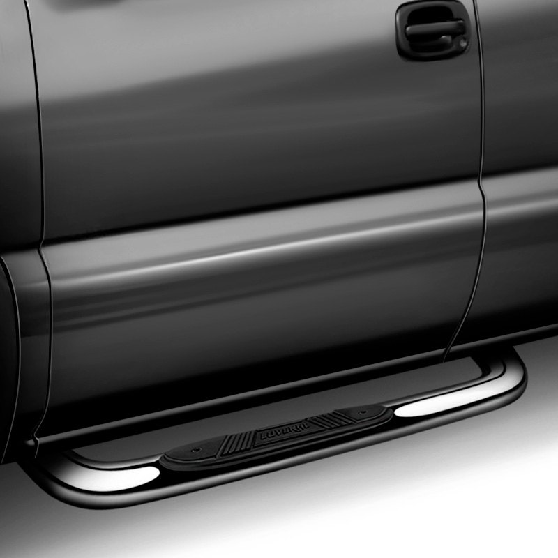 """Ford F-150 2017 3"""" Cab Length Round Nerf Bars"""