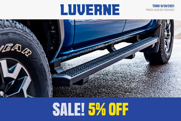 Luverne Truck Equipment Promo