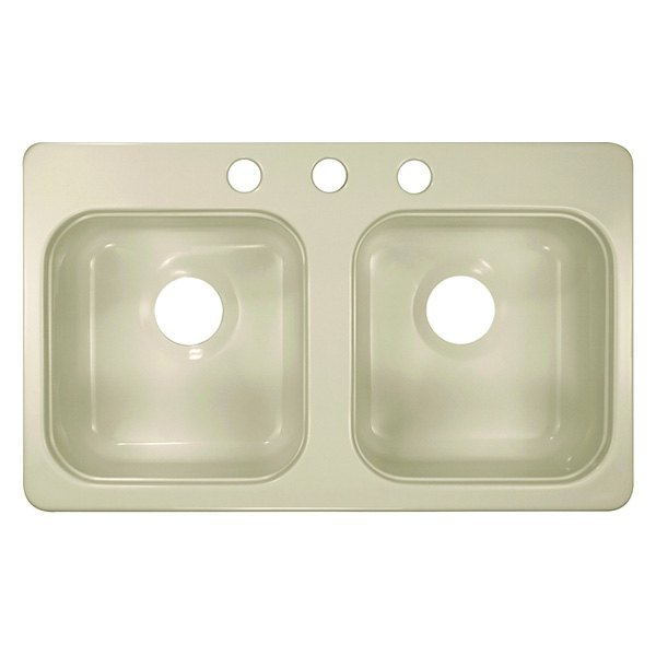 lyons style a rectangular double bowl sink
