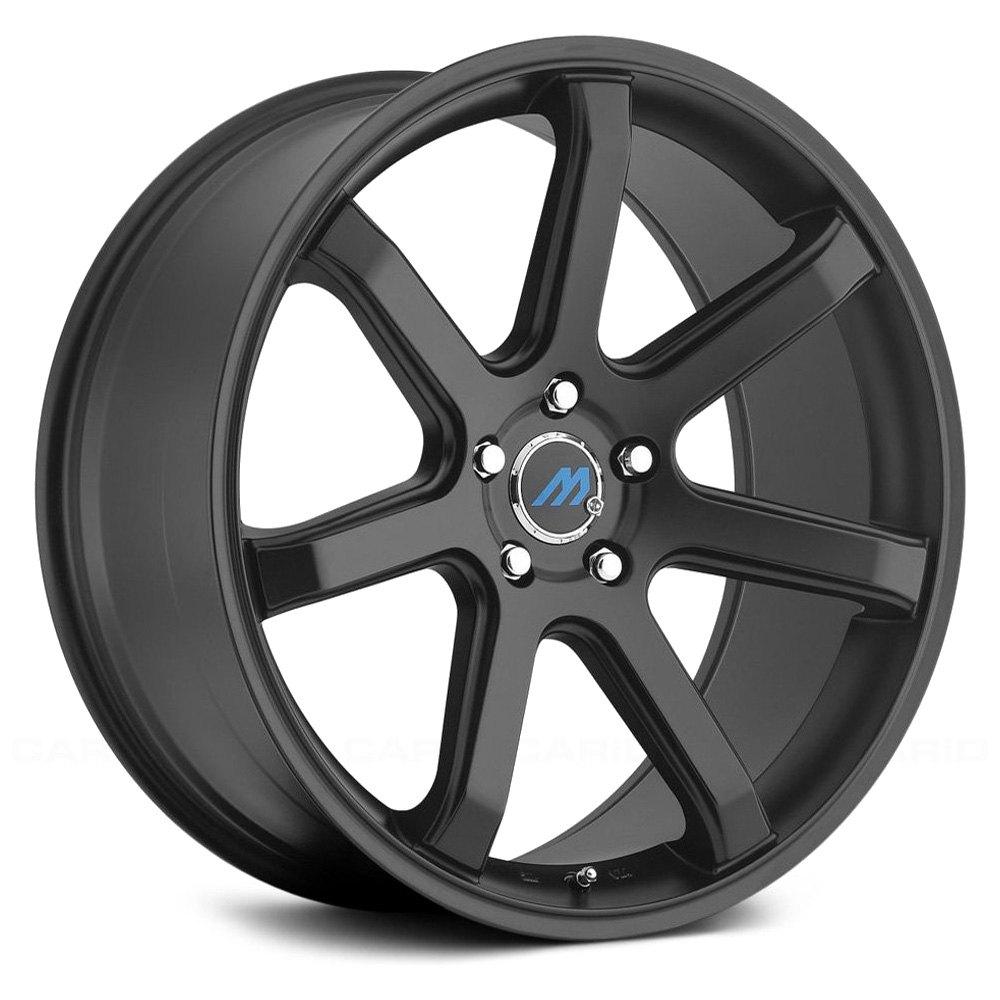 Mach 174 Me7 Wheels Satin Black Rims