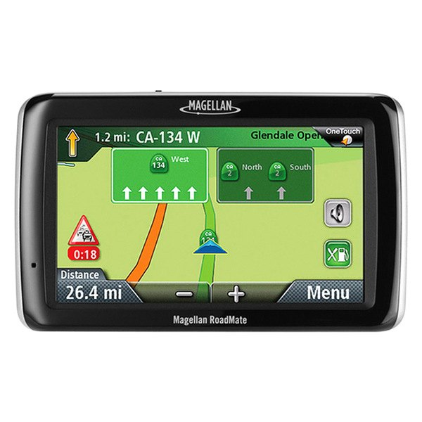 Car Gps System Product : Magellan roadmate quot touchscreen vehicle gps navigator