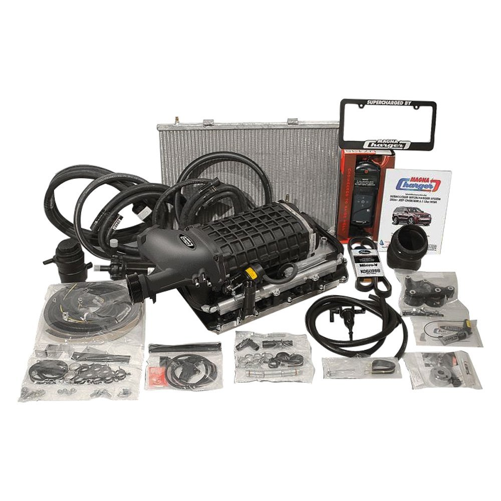 Jeep Supercharger Kits: Jeep Grand Cherokee 6.1L 2007 TVS2300