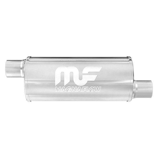 "5/"" Round 2.5/"" C//C 14/"" Body MagnaFlow Muffler SS 12866"