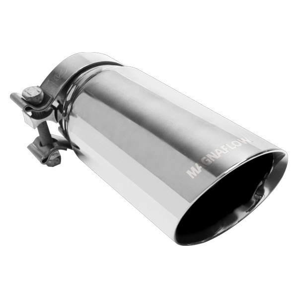 "35104 Magnaflow Exhaust Tip Angled Cut Single Wall  3/"" Inlet 3.5/"" Outlet"