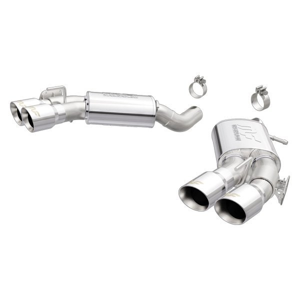 MagnaFlow® - Competition Series™ Stainless Steel Exhaust System with Quad  Rear Exit