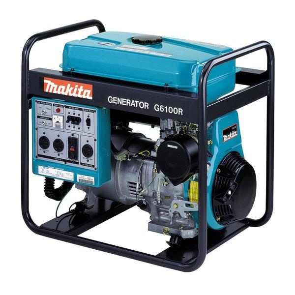 Makita® G6100R - 5800W Generator with Manual Starter