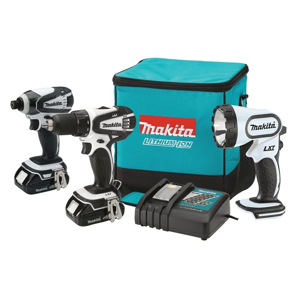 makita ct300rw 18v compact 3 pack combo kit with 2 0ah. Black Bedroom Furniture Sets. Home Design Ideas