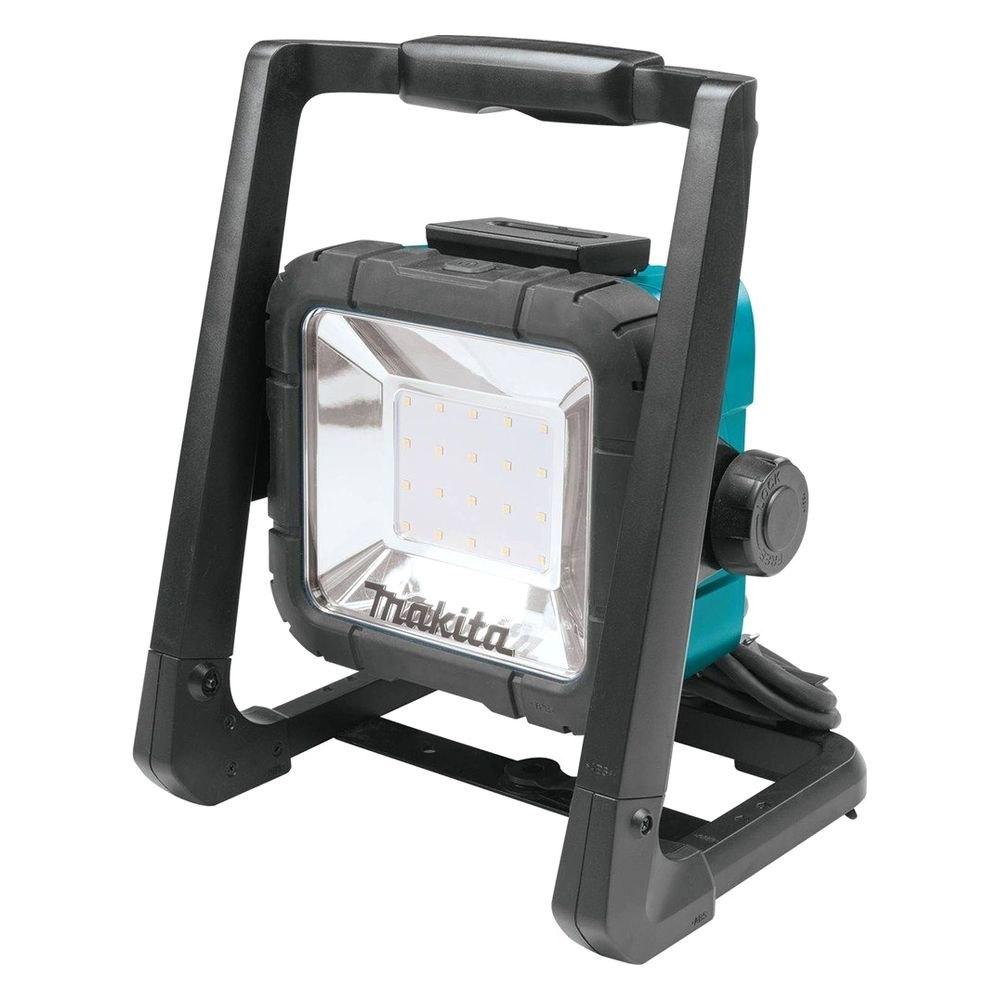 makita dml805 18v lxt li ion cordless corded 20 led flood light only. Black Bedroom Furniture Sets. Home Design Ideas