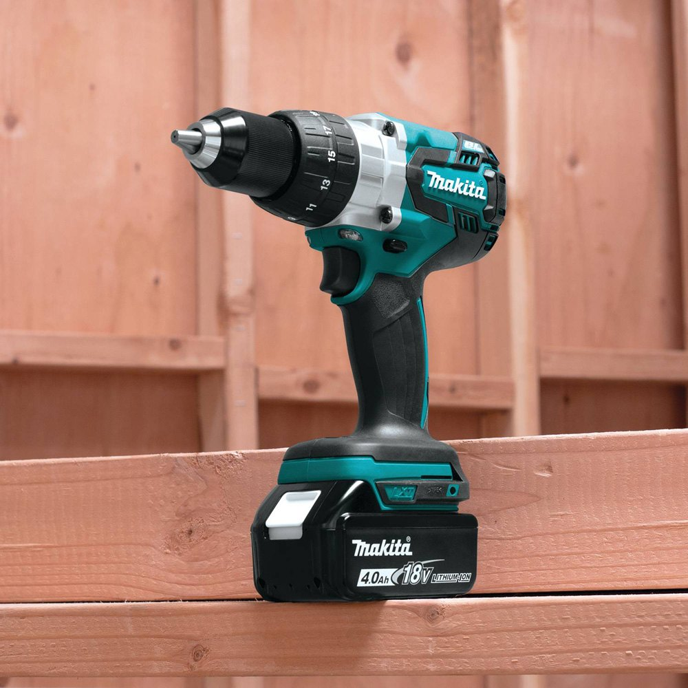 makita xfd07m 18v lxt li ion brushless cordless 1 2 driver drill kit. Black Bedroom Furniture Sets. Home Design Ideas