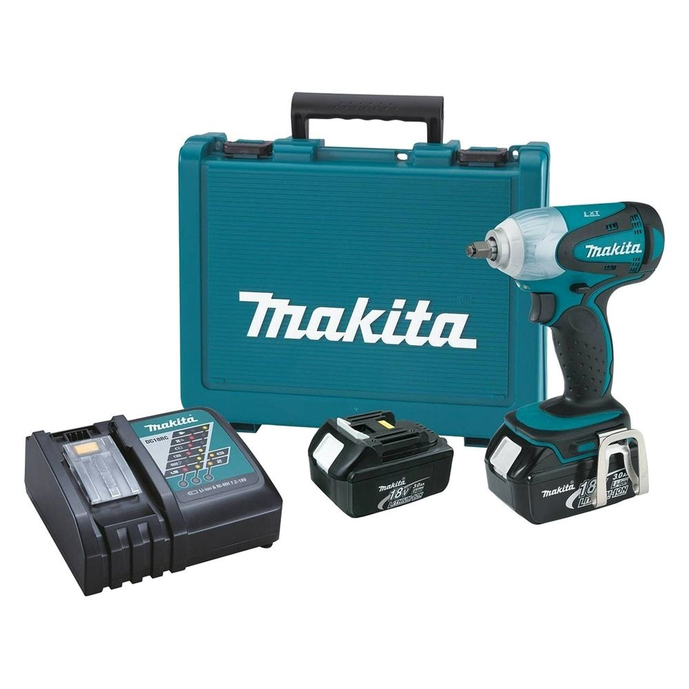 makita xwt06r 18v lxt lithium ion 3 8 cordless square. Black Bedroom Furniture Sets. Home Design Ideas
