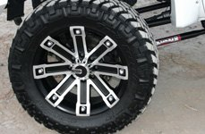 MAMBA® - M1X Matte Black with Machined Face on Ford F-250