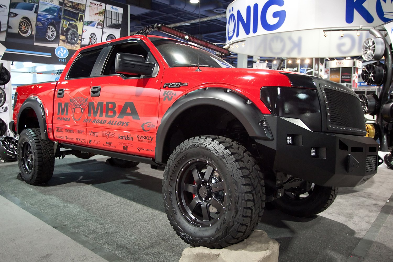 Mamba 174 M14 Wheels Matte Black Rims