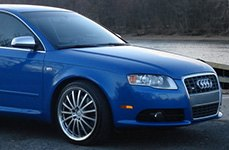 MANDRUS® - MILLENIUM Hyper Silver with Mirror Cut Lip on Audi A4