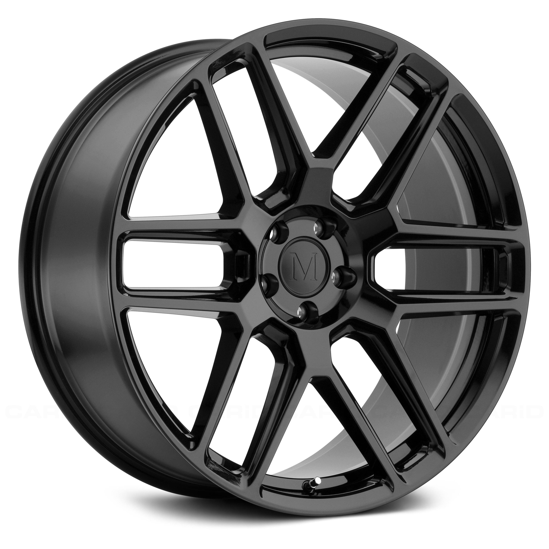 Mandrus 174 Otto Wheels Gloss Black Rims