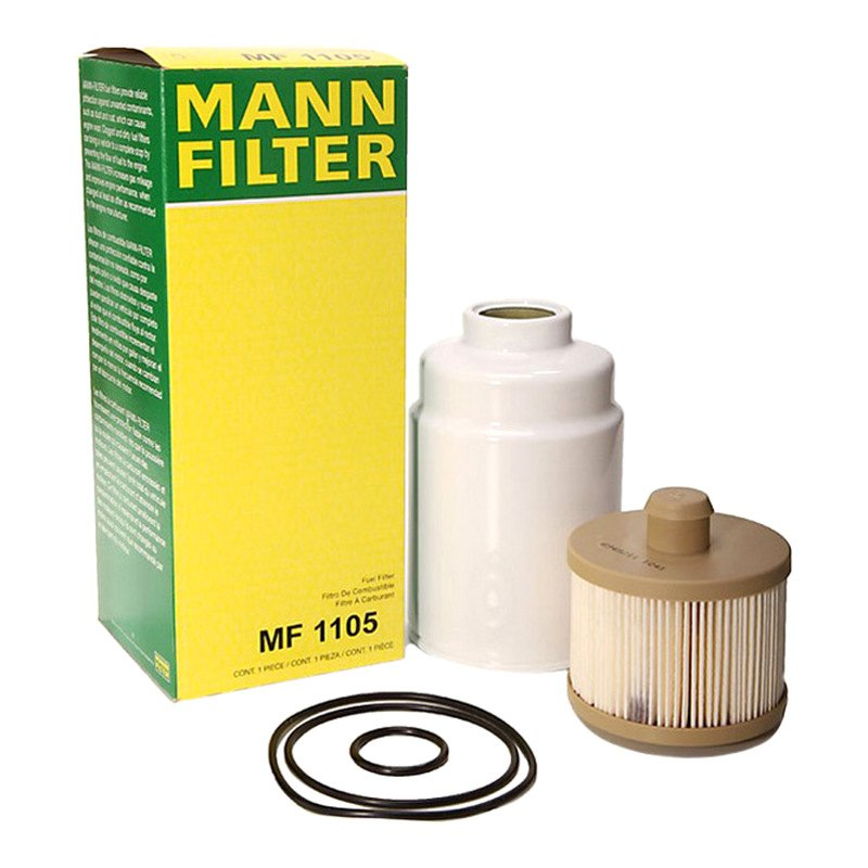 Mann Fuel Filter 1044: GMC Savana 2007 Spin-On Fuel Filter