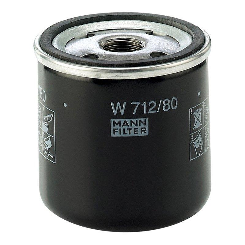 mann filter w712 80 spin on oil filter. Black Bedroom Furniture Sets. Home Design Ideas