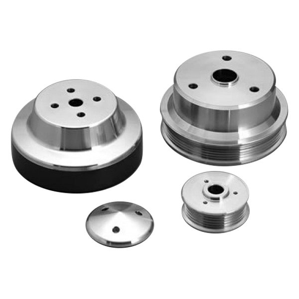 March Performance Pulley Kit Serpentine Performance Ratio: Late GM Serpentine Pulley Kits