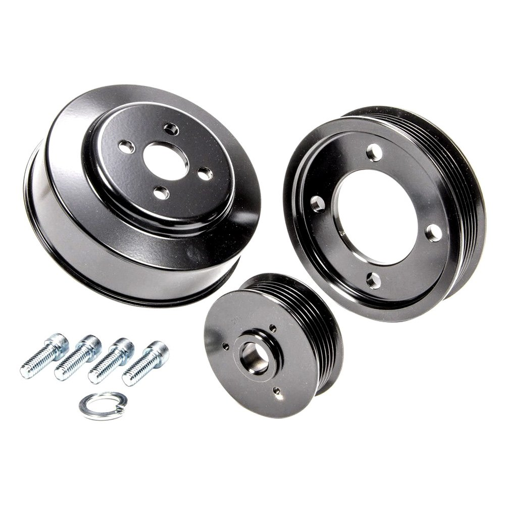 March Performance Pulley Kit Serpentine Performance Ratio: March Performance Serpentine Pulley Kit