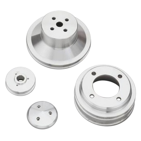 March Performance Pulley Kit Serpentine Performance Ratio: Double Groove Performance Ratio V