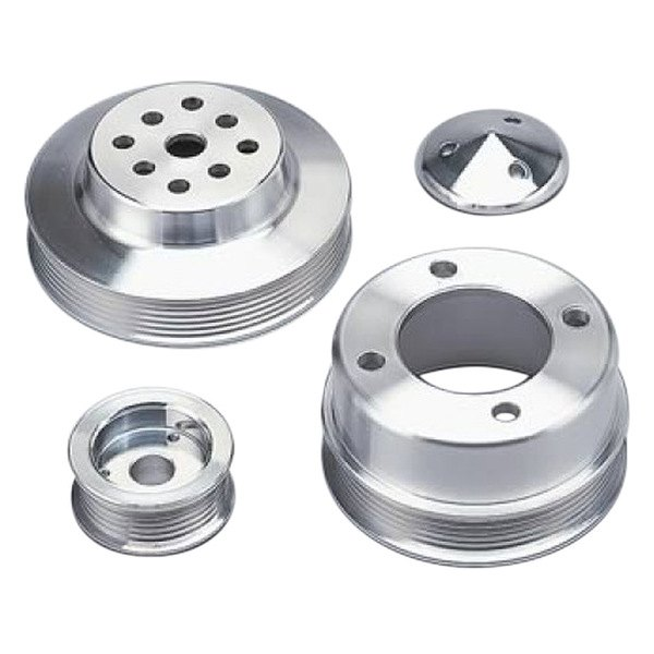 March Performance Pulley Kit Serpentine Performance Ratio: Performance Ratio 6-Rib