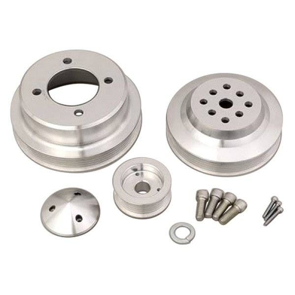 March Performance Pulley Kit Serpentine Performance Ratio: March Performance® 1675