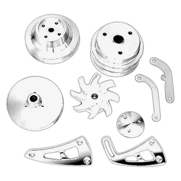 March Performance Pulley Kit Serpentine Performance Ratio: March Performance® 22030