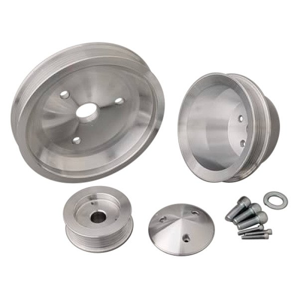 March Performance Pulley Kit Serpentine Performance Ratio: Short Water Pump Performance