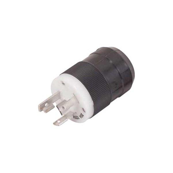 marinco u00ae 305bp 30a 125v 3 wire locking charging  trolling