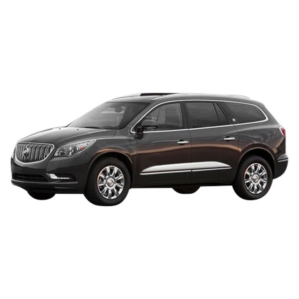 Buick Enclave 2012 Polished Body Side Moldings