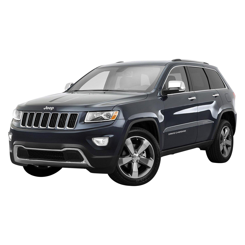 Jeep Grand Cherokee Limited 2014: Jeep Grand Cherokee 2014 Chrome Fog Light Bezels