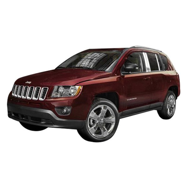 marquee jeep compass 2012 polished pillar posts. Cars Review. Best American Auto & Cars Review