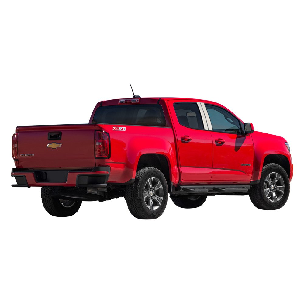 marquee mpp 913 chevy colorado 2016 polished pillar posts. Black Bedroom Furniture Sets. Home Design Ideas
