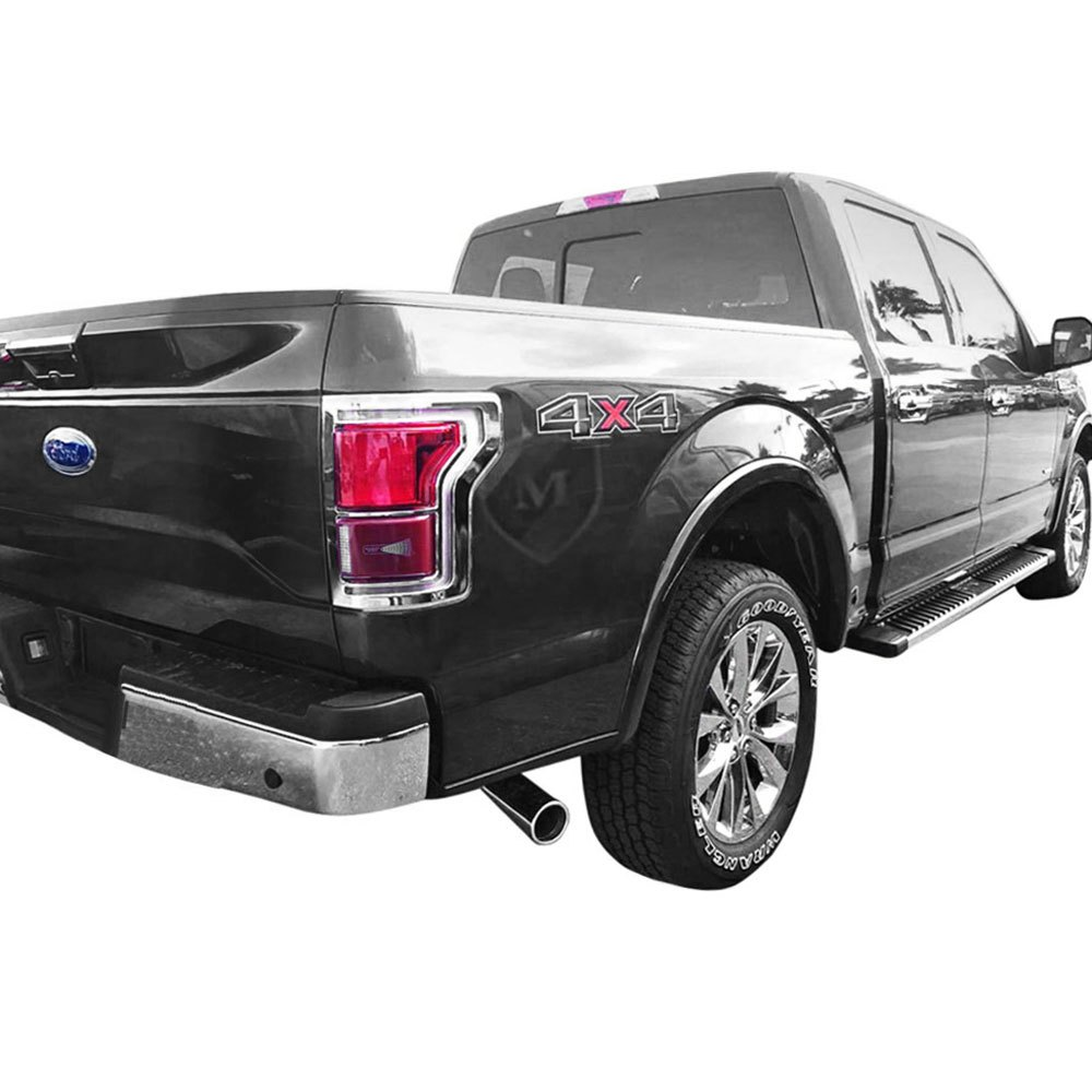 marquee ford f 150 2017 chrome tail light bezels. Black Bedroom Furniture Sets. Home Design Ideas