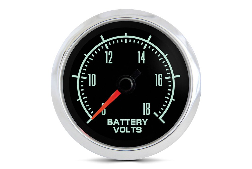 "Marshall Fuel Pressure Gauge MNB00100; 0 to 100 psi 1-1//2/"" Full Sweep Mechanical"