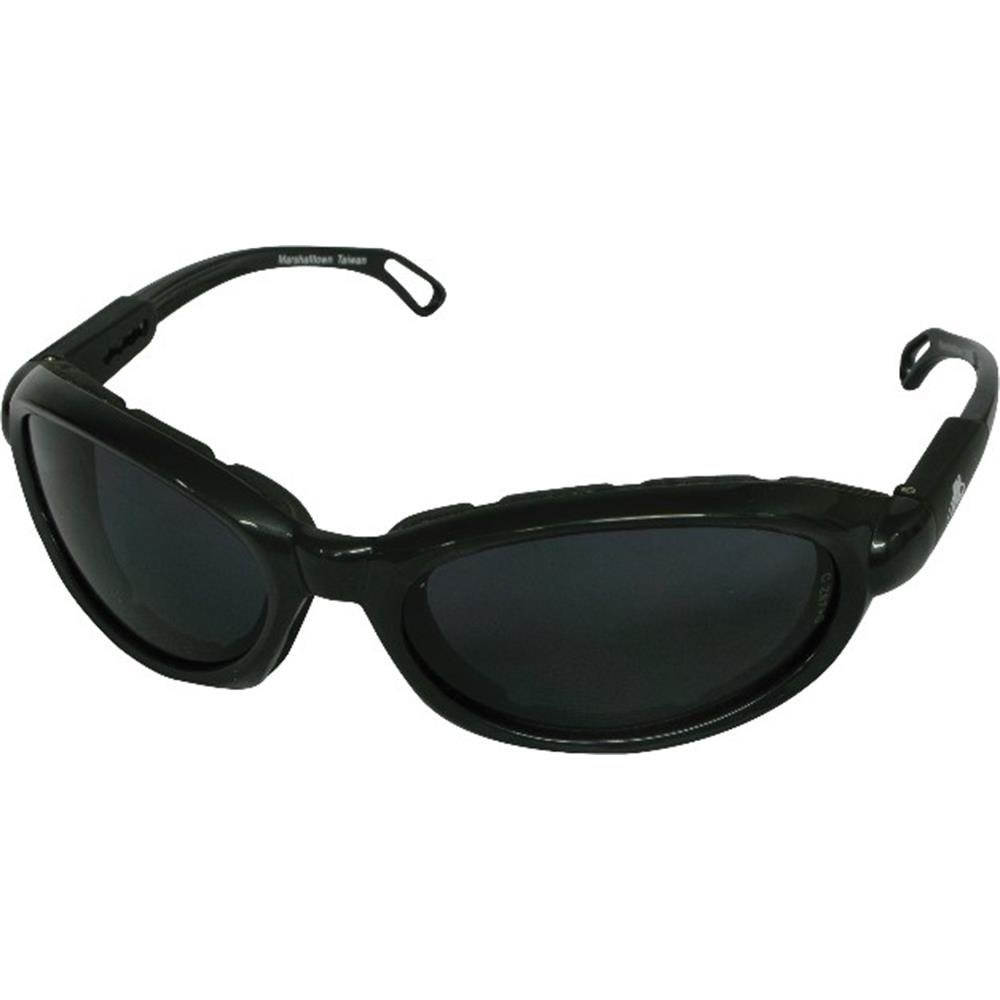 Black Frame Safety Glasses : MARSHALLTOWN SG196 - Safety Glasses with Foam Lining ...