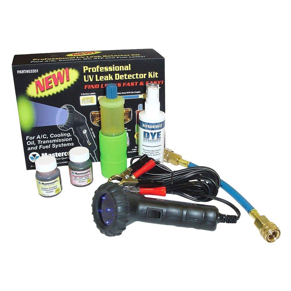 mastercool professional uv leak detector kit with 50w mini light. Black Bedroom Furniture Sets. Home Design Ideas