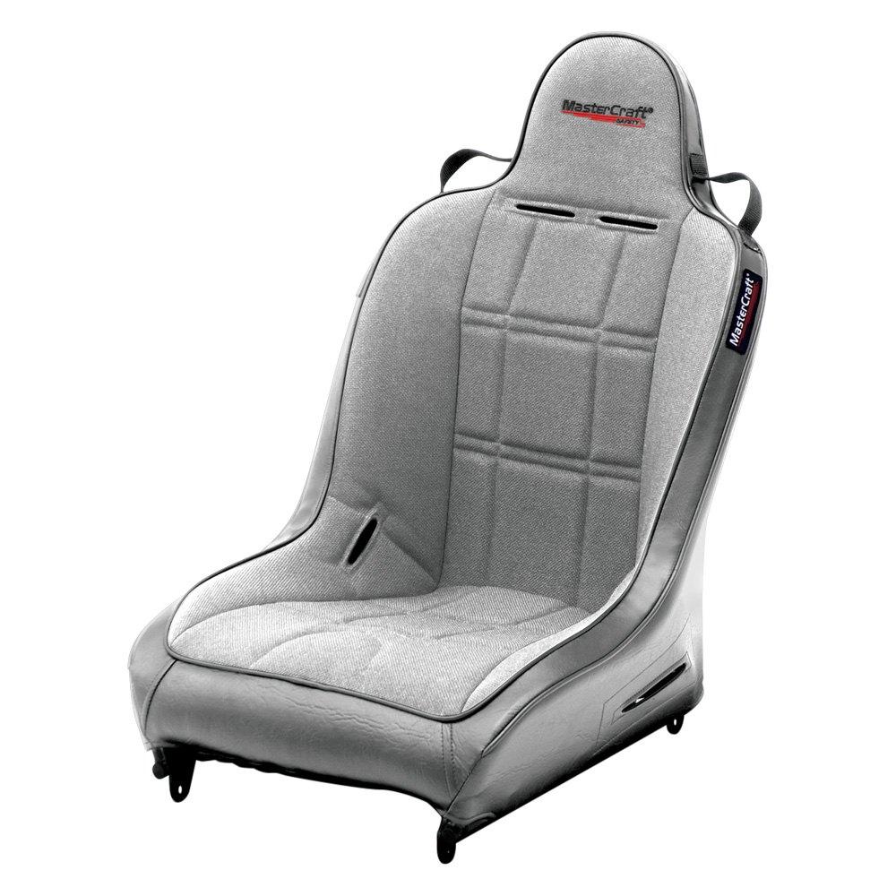 MasterCraft Safety® 576020 - Original™ Premium Suspension Seat, Smoke with  Gray Center and Side Panels, Smoke Piping