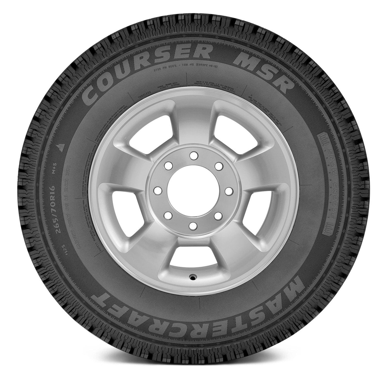 mastercraft tire 265 70r17 s courser msr winter all. Black Bedroom Furniture Sets. Home Design Ideas
