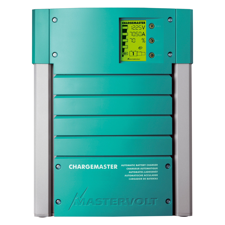 mastervolt 44010700 chargemaster 3 bank 70a 12v battery charger. Black Bedroom Furniture Sets. Home Design Ideas