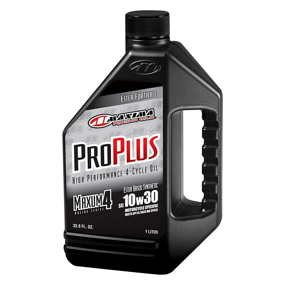 Maxima Racing Oils 30 01901 Sae 10w 30 Pro Plus