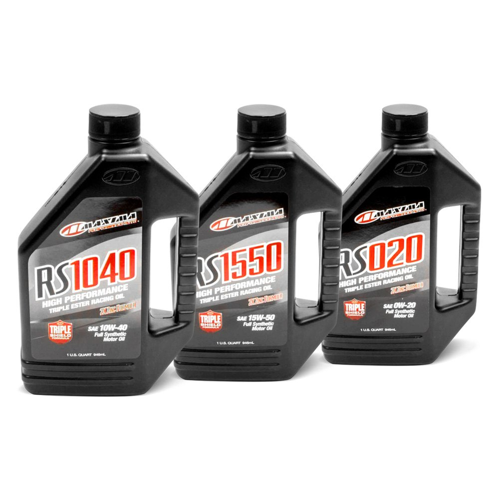 Maxima Racing Oils Rs Synthetic Motor Oil