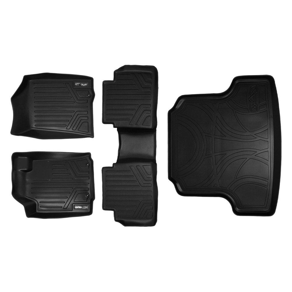 Rubber floor mats nissan pathfinder 2013 - A0125 B0125 D0125 Nissan Altima 2013 Maxfloormat Black Floor