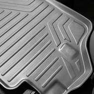 MaxLiner® - MaxFloormat™ Gray Floor Liner, 2nd Row