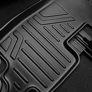 MaxLiner® - MaxFloormat™ Black Floor Liner, 2nd Row