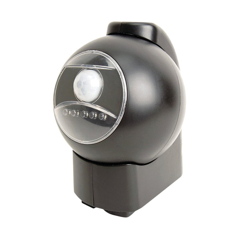 MAXSA 40230 Motion Activated LED Outdoor Light Black