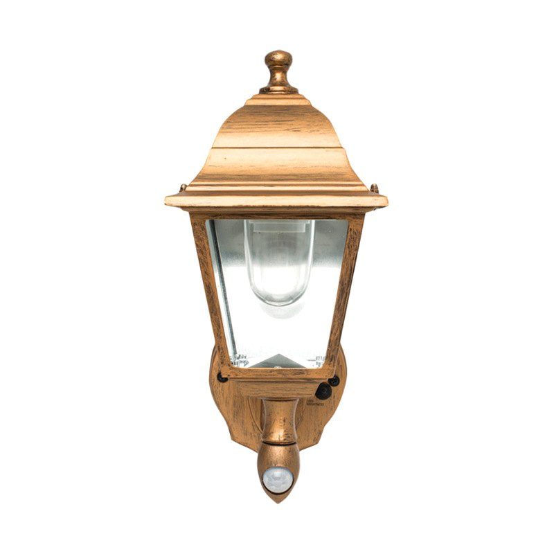Wall Sconce With Motion Sensor : MAXSA 48219 - Motion-Activated Wall Sconce (Copper)