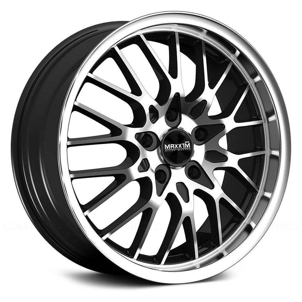 MAXXIM® CHANCE Wheels - Gloss Black with Machined Face and